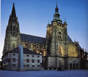 St. Vitus Cathedral at Prague Castle