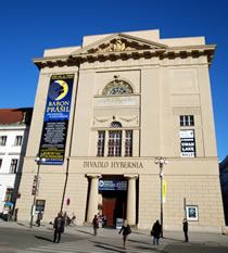 Hybernia Theatre, Old Town, Prague 1