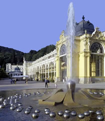 Karlovy Vary Sightseeing & Moser Glass Tour