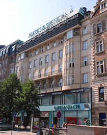 Marks & Spencer Department Store, New Town, Prague 1