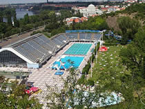 Swimming Pool Complex at Podoli, Podoli, Prague 4