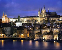 Prague Castle at Night Walking Tour, Old Town, Prague 1