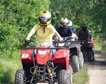 Quad Biking, Prague