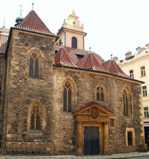 St. Martin in the Wall Church, Old Town, Prague 1