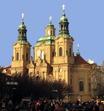 St. Nicholas Church at Old Town Square
