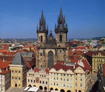 Tyn Church, Old Town, Prague 1