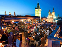 U Prince Hotel Roof Terrace Bar, Old Town, Prague 1