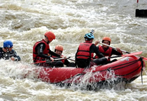 White Water Rafting, Prague