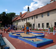 Franciscan Gardens and Children's Playground in Prague
