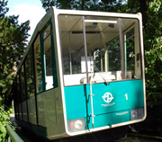 Prague Funicular Railway at Petrin