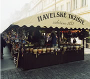 Havel's Market in Prague