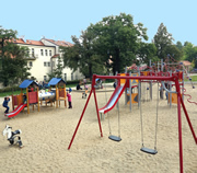Franciscan Garden and Children's Playground in Prague