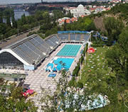 Podoli Swimming Pool Complex in Prague