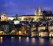 Prague Castle at Night Walking Tour