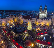 Prague Christmas markets at Old Town Square