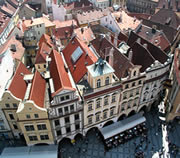 View from Old Town Hall Tower