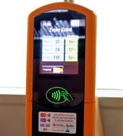 Prague Public Transport Ticket Machine