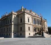 Dvořák Concert Hall at Rudolfinum in Prague