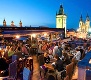 Prague 39 s best bars with summer terraces for Terrace u prince prague