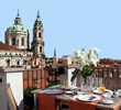 Restaurants in Prague with a view over the city