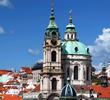 St. Nicholas Church at Lesser Town Square, Lesser Town, Prague 1