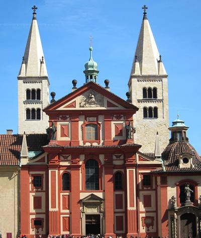 St. George's Basilica at Prague Castle