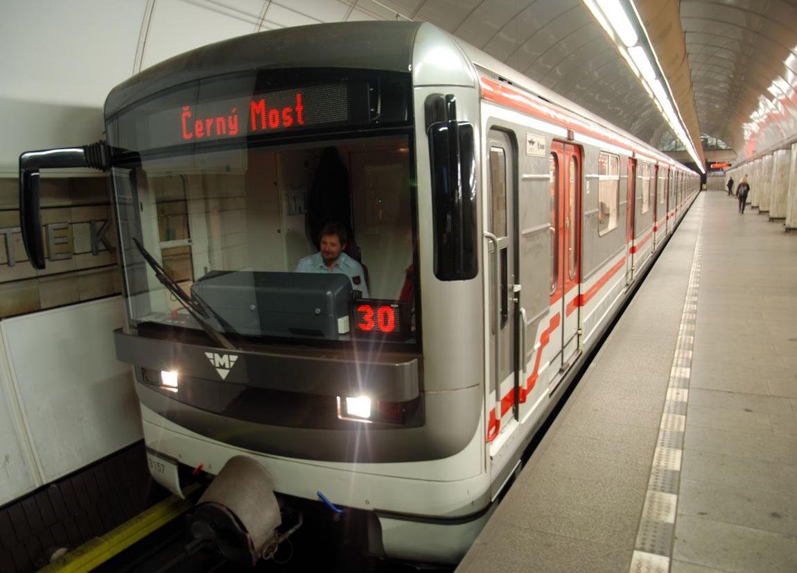 Prague Subway Mapinfo.Prague Public Transport Travel By Metro Tram Bus Train