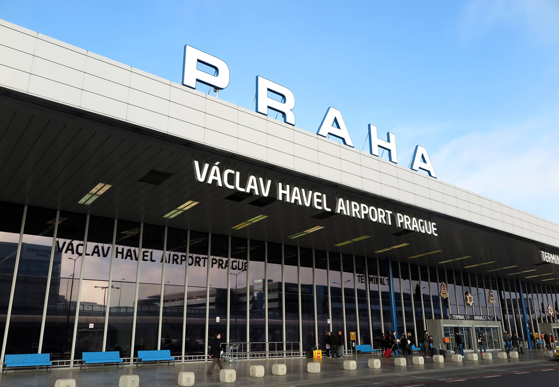 Image result for vaclav havel airport