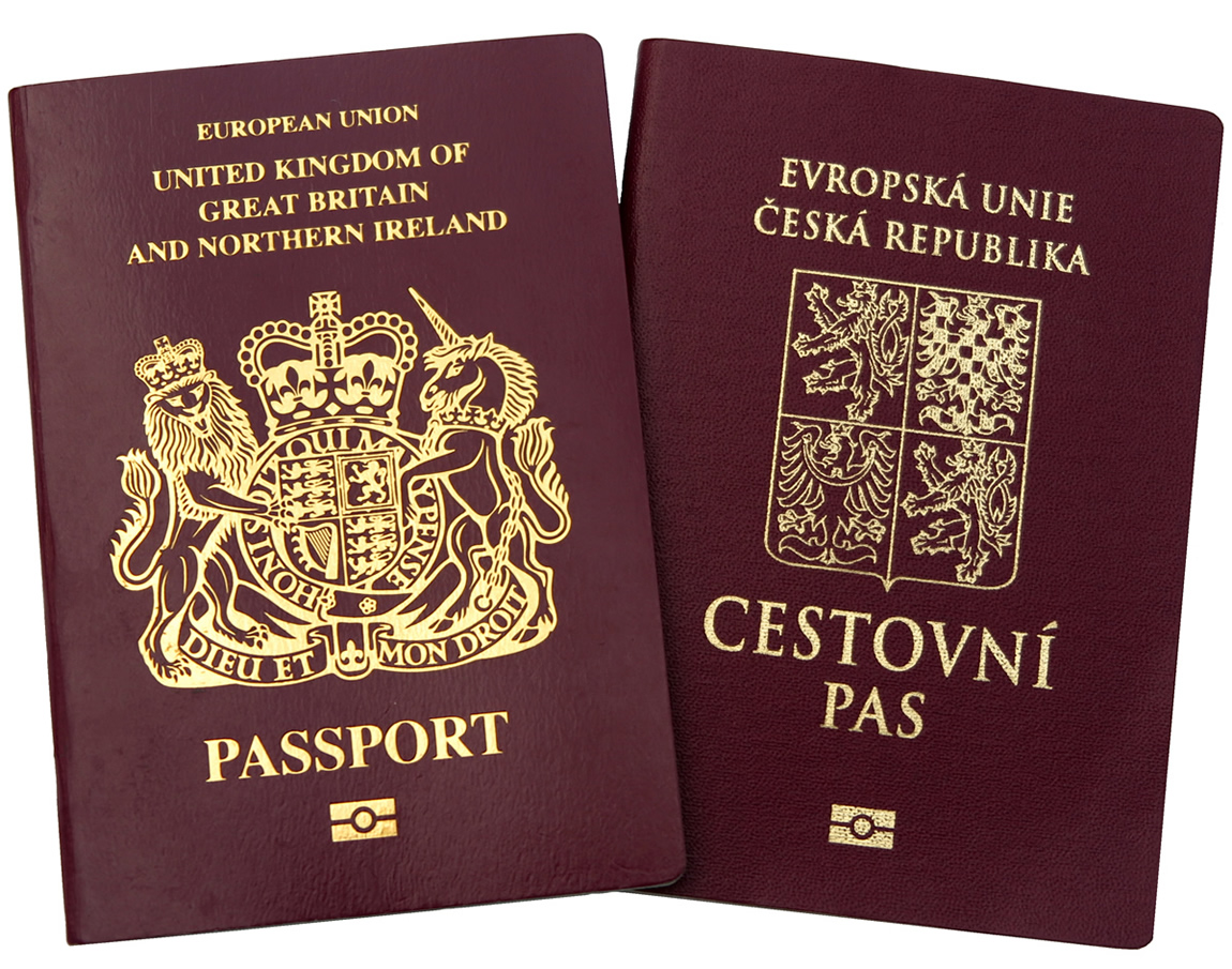 Passports For Prague